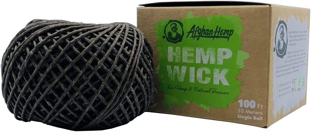 Afghan Hemp Long-awaited All Natural 100ft Pure Ball Wick Los Angeles Mall 30 Meters