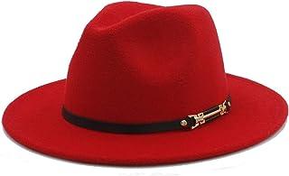 DOSOMI 100/% Wool Women Fedora Hat with Wide Brim Elegant Lady Floppy Cloche Jazz Godfather Sombrero Caps