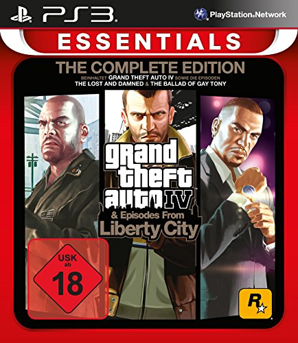 Grand Theft Auto IV Complete Edition Essentials - [PlayStation 3]
