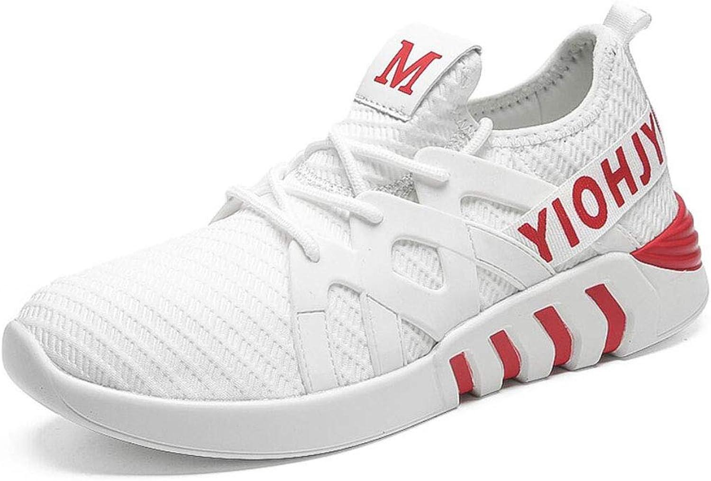 Mans Casual skor, 2018 ny ny ny Sports Mes Air Trainers Fitness Flats springaning Athletic Competition Lace Up skor YAN (färg  A, Storlek  43)  mode varumärken