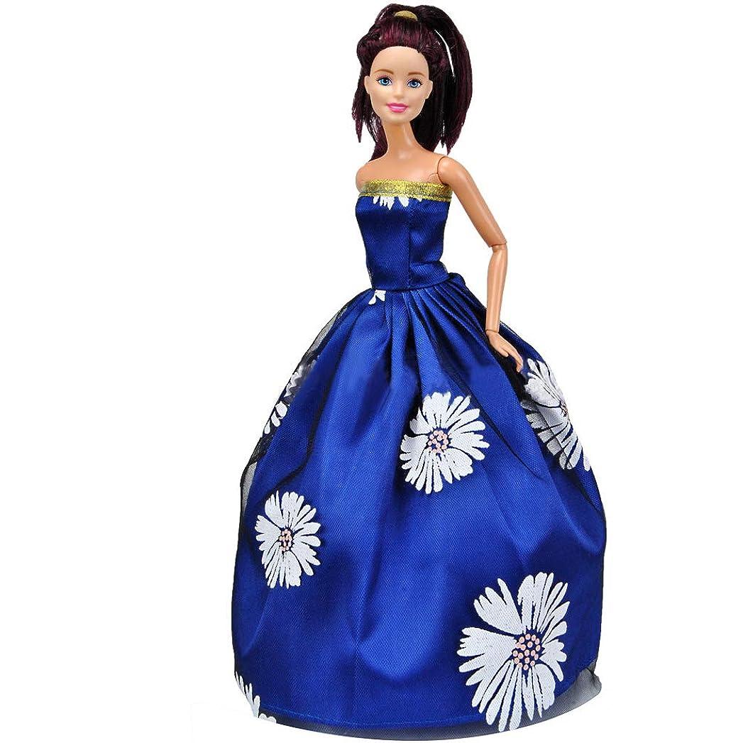 ヨーグルト突撃海港RaiFu 人形服 アクセサリー 人形のウェディングドレススーツ 子供のおもちゃ 29 CMの人形のため バービードレス#1