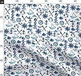 blau, marineblau, Inneneinrichtung, Wasserfarben, Schiffe,