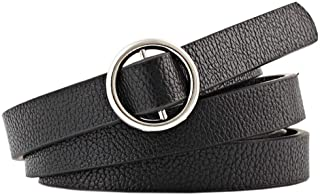 COMVIP Women Weave Skinny Tassel Waistband Slim Fit Dress Waist Belt