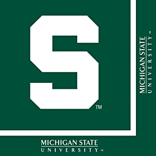Michigan State Spartans Lunch Napkins, 20-Count