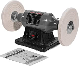 "XtremepowerUS 8"" inch Electric Polisher Benchtop Buffer Grinder 3/4HP Motor.."