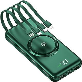 Trådlös Fast Charge Power Bank, 20000 mAh Portabel Mobiltelefon Laddare Utomhus Travel Powerbank Passar, för alla smartpho...