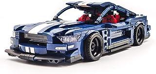 dOvOb Creator Blue Super Speed Champions Racing Cars Set,Adult Collectible Model,Building Blocks 737 PCS