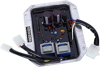 50HZ / 60HZポテンショメータAC 55V-220V入力自動電圧レギュレータ、調整可能な電圧レギュレータ、発電機用のブラックノブキャップ自動調整