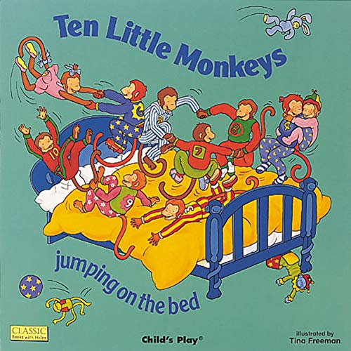 Ten Little Monkeys Jumping on the Bed (Classic Books with Holes 8x8)