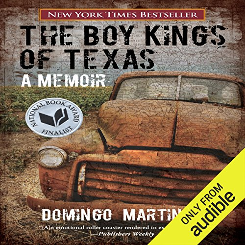 The Boy Kings of Texas audiobook cover art