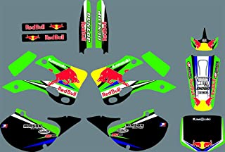 DST0696 Custom Decal Kit Motorcross Graphics Sticker for KAWASAKI KX125 KX250 1999 2000 2001 2002