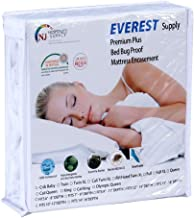 Premium Mattress Encasement Waterproof Bedbug Proof Hypoallergenic Zippered Protector 6 Sided Cover Machine Washable RV Short King 72 by 75 inches Fits 9-11 inch Depth