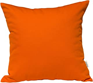 TangDepot Handmade Decorative Solid 100% Cotton Canvas Throw Pillow Covers/Pillow Shams, (18