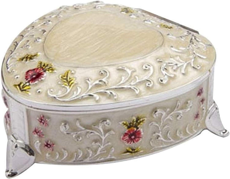 KEEBON Sales for Outlet ☆ Free Shipping sale Jewellery Box Organiser Cute Wedding B Korean Gift Simple