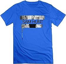 Saxon Man's Sam Hunt Montevallo Novel Tees RoyalBlue