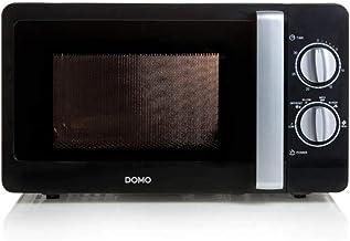DOMO DO2420 - Microondas con temporizador de 30 minutos, 20 litros, color negro