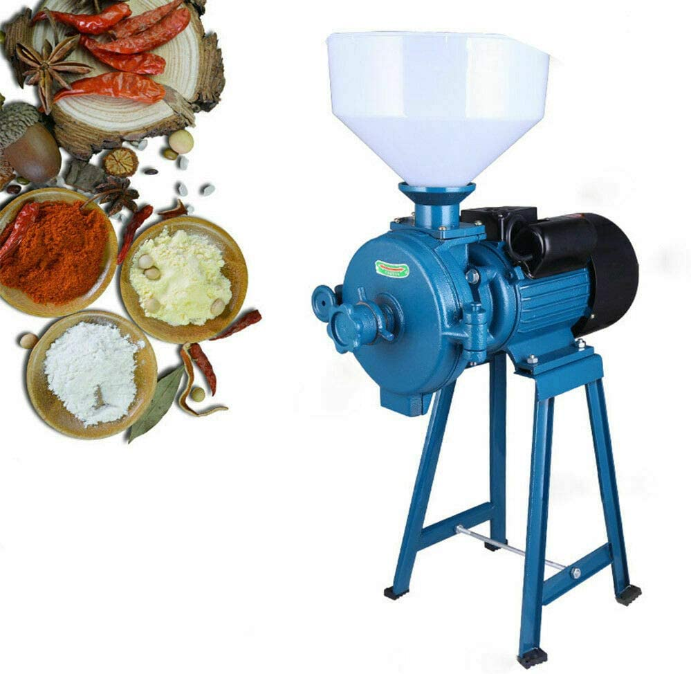 free 110V Electric Grinder Max 89% OFF Machine 1500W Cereals Flour Mill