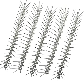 Ancdream 2.5 Meters Stainless Steel Bird Spikes - Durable Pigeon Repellent - Great Deterrent for Birds, Crows and Woodpeck...
