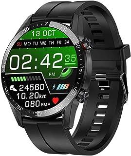 Inteligentny zegarek męski zegarek na rękę IP68 wodoodporny fitness tracker Bluetooth połączenie połączenie wiadomości prz...