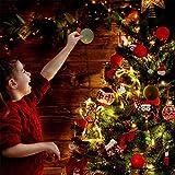 Sunshine smile LED Vorhang Licht, LED Fensterlicht Saugnapf,Kabelbeleuchtung,Fensterlichter,lichtervorhang Fenster led,Lichterkette,Lichtervorhang Lichter Weihnachtsbeleuchtung(6 Pcs) - 3