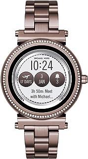 Michael Kors MKT5030 Rose Gold Steel 316 L Digital Quartz Woman Watch