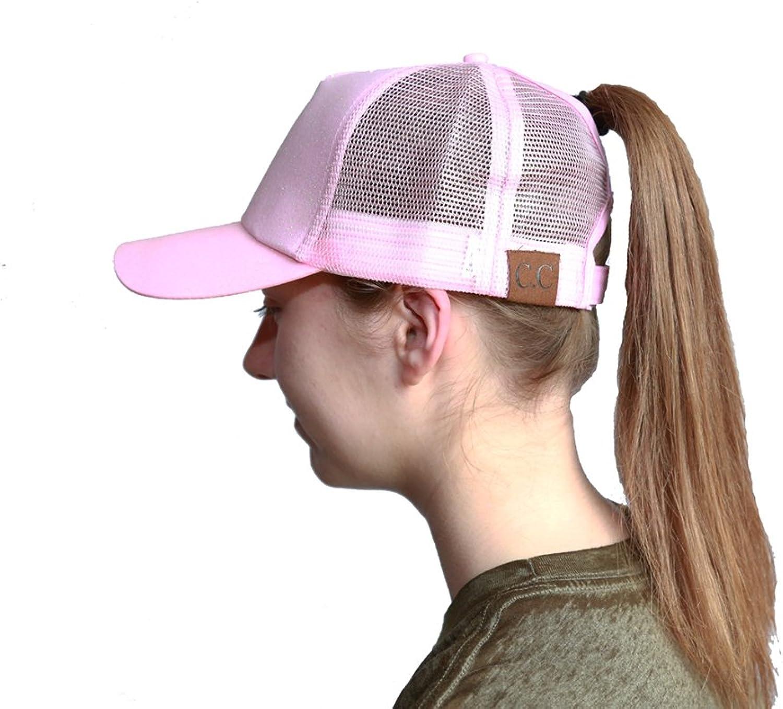 C.C. Premier Ink Designs Ponytail Hat Messy Bun Hat Ponycap Ponytail Hat Women