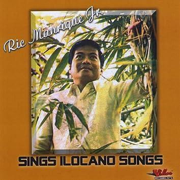Ric Manrique Jr. Sings Ilocano Songs