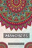 Mandalas Livre De Coloriage Pour Adulte: Anti-Stress,Magnifiques Mandalas à Colorier pour un esprit plus calme ,coloriage adulte , Cahier ... zen et pensées positives pour ce relaxer.