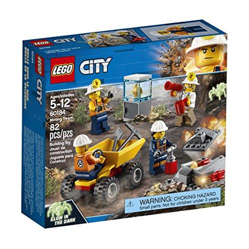 LEGO City - Mina: Equipo, Juguete Creativo de Construcción