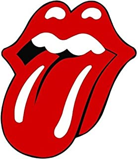 Rolling Stones Lips and Tongue Sticker Rock ROLL Laptop Sticker Hard HAT Sticker Toolbox Sticker Bumper Sticker