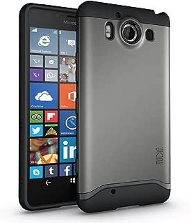 TUDIA Slim-Fit Merge Dual Layer Protective Case for Microsoft Lumia 950 (Metallic Slate)