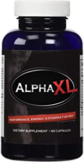 Alpha XL - Most Potent Powerful Male Supplement Pills Ideal For Men All Natural Clinically Proven Ingredients with Horny G...