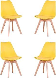: chaise jaune