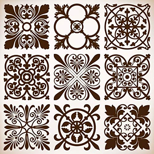 ZFWEI 3D Cartoon Klassische Puzzles Erwachsenen Kinder Puzzle Wooden 1000 Teile Lmpossible Puzzle DIY Puzzle Spiel Puzzles Die Ganze Familie Puzzle Vintage Blumen 50CMX75CM