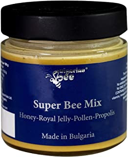 500 g Honig enthält Blütenpollen, Bienenwachs, Propolis, und Gelee Royal