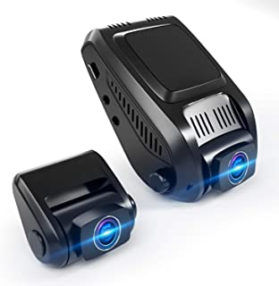 Dual Dash Cam, 1080P FHD Front and Rear Dual Lens Car Camera 170°Wide Angle Dashboard Camera Recorder with G-Sensor, WDR, ...