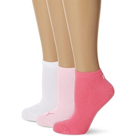 Puma Men's Puma Unisex 3p Sneaker Plain Sock, Pink Lady, 3 5 UK
