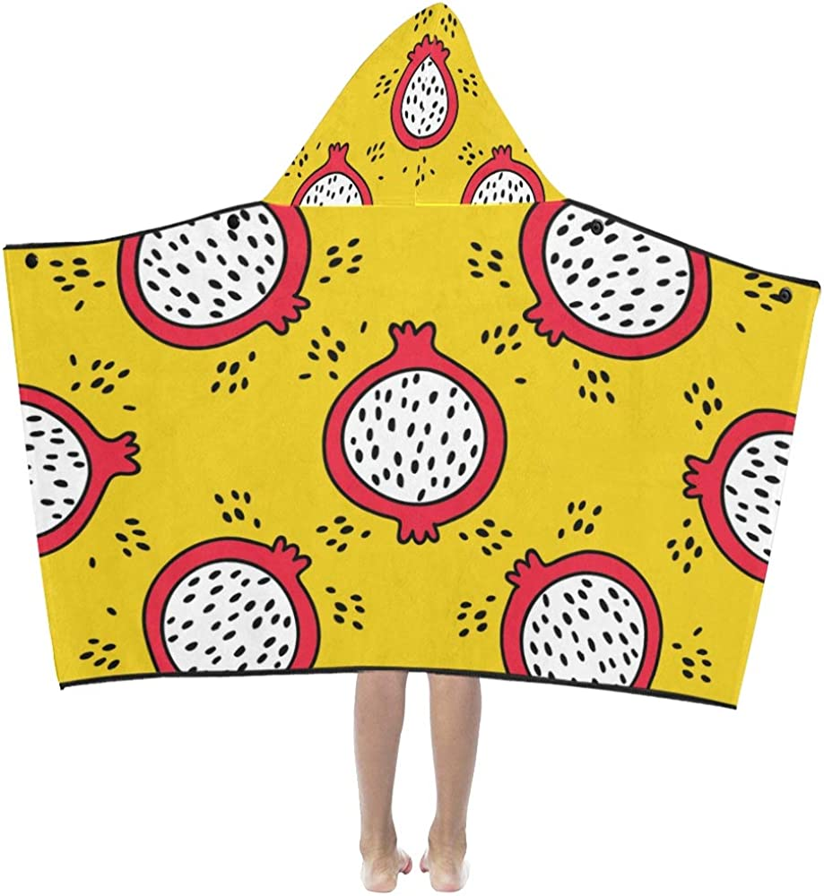 Bath Towels Extra Super sale period limited Large special price Summer Fashion Kids Ho Love Dragon Fruit