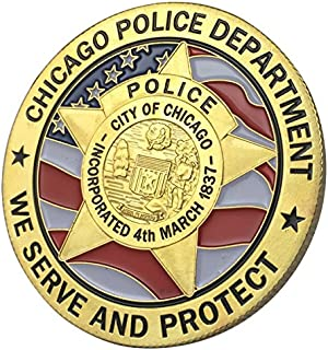 Best chicago police challenge coins Reviews
