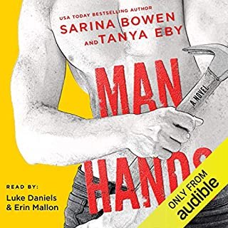 Man Hands audiobook cover art