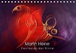 Martin Heine - Fantasien der Sinne (Tischkalender 2021 DIN A5 quer): Martin Heine - Living Artspace - Kunstkalender Acryl ...