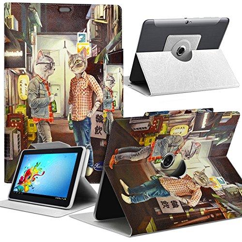 Seluxion MV10 - Funda tipo libro para tablet Acer Iconia One 10 B3-A30 (función atril)