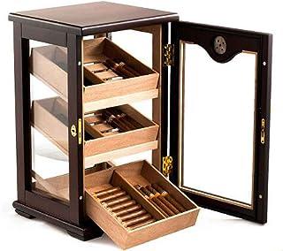 YUN Refroidisseur de Cigare, Cave À Cigares en Bois De Cèdre Armoire À Cigares De Grande Armoire À Cigares Cave À Cigares ...