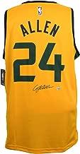 Grayson Allen Utah Jazz Signed Yellow Fast Break Fanatics Basketball Jersey Fanatics