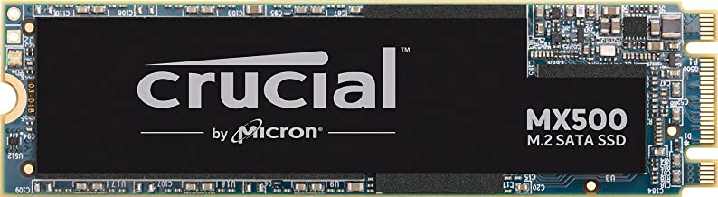Crucial MX500 500GB 3D NAND SATA M.2 (2280SS) Internal SSD, up to 560MB/s - CT500MX500SSD4