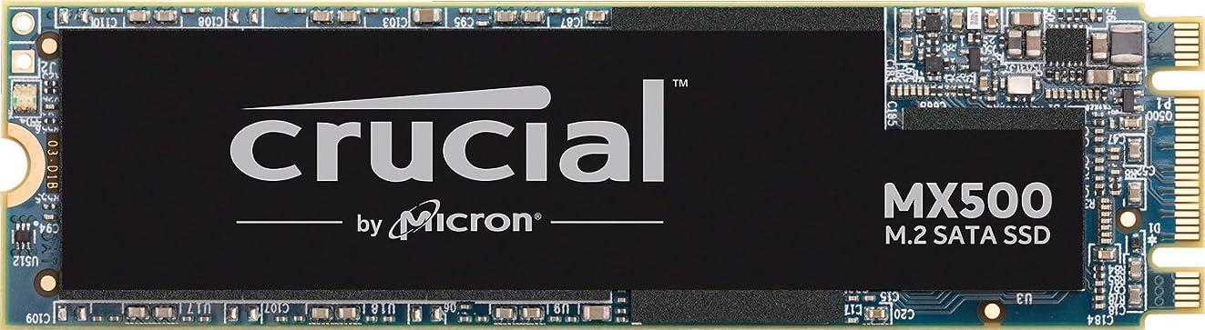Crucial MX500 500GB 3D NAND SATA M.2 Type 2280SS Internal SSD - CT500MX500SSD4