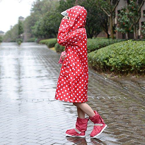 ZZHF Yuyi Impermeabile Impermeabile Plus Dalian Body Poncho Adulto Lady Outdoor Impermeabile 2 Colori Optional Taglia Opzionale