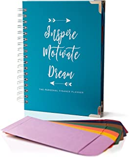 The Personal Financial Planner, 145 Page All-in-One Undated Daily and Budget Planner - Includes 8 Cash Envelopes - Track Budget, Expenses, Debt, Monthly Bills, Grocery Lists, Goals, Weekly Calendars