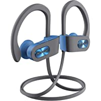 Mpow Flame Bluetooth Sport IPX7 Sweatproof Sports Earphones Compatible for iPhone, Android (Blue)