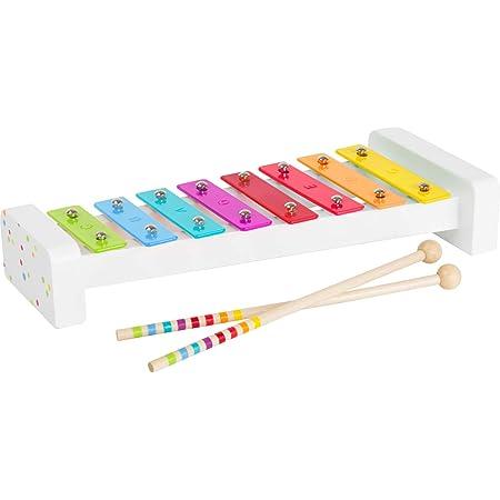 Small Foot 11117 Xylophone « Sound » en bois, certifié 100% FSC, instrument de musique pour enfants, avec notes Jouets, multicolore